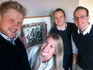 #lolfie with Pablo. Menossa mukana Teemu, Sanna, Mikko ja Ville.