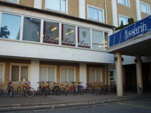 Lexin toimisto Ylioppilastalo A:n 2. kerroksessa on sijainnut nykyisellä paikallaan vuodesta 1994. Kuva: Lex ry