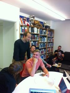Syyskuun ryhmäpalaveri Lexin toimistolla.