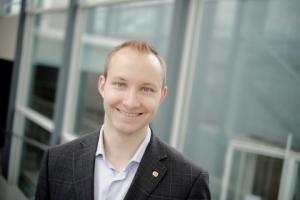 Ryhmä Lexiä edustava Mikko Mononen on ehdolla SYL:n puheenjohtajaksi 2016. Kuva: TYY