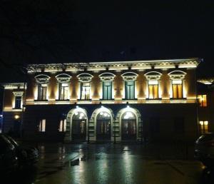 Juhlakokous järjestettiin kaupungintalolla.